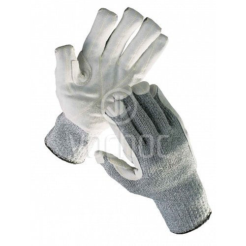 Protiřezné rukavice zesílené kůží CROPPER Strong 1079787e8a